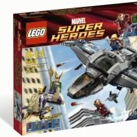 Lego ASLI 6869 Super Heroes The Evengers Quinjet Aerial Battle Terbaik
