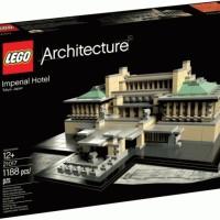 Lego ASLI 21017 Architecture Imperial Hotel Brick Terbaik