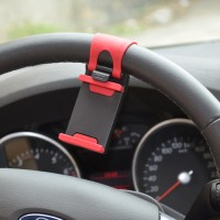 Jual Lazypod Setir Mobil | Car Steering Mount Holder for Smartphone Murah