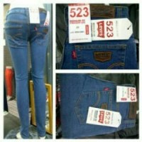 Celana jeans wanita Levis 523 / Celana panjang jeans pensil
