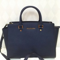 Michael Kors Selma Large Navy