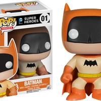 Funko Pop Batman Orange Rainbow 75th Anniversary Batman