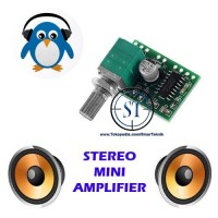 Kit PAM8403 5V Stereo 2 Channel 3W Mini Digital HiFi Audio Amplifier