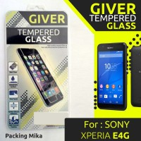 TEMPERED GLASS GIVER SONY XPERIA E4G