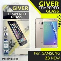 TEMPERED GLASS GIVER SAMSUNG Z3 NEW