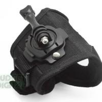 360 Degree Rotation Glove For Gopro Hero 4 3+ 3 Sjcam