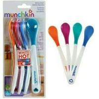 Jual Sendok bayi Munchkin White Hot Safety Spoon sensor anti panas mpasi Murah
