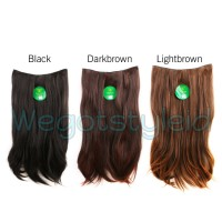 Hairclip Lurus 60 cm Big Layer Hair Clip Klip Korea Straight Instaclip