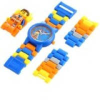 TOYS LEGO KIDS THE MOVIE EMMET WATCH WITH MINIFIGURE