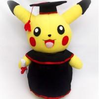 Boneka Wisuda Pikachu - Graduation Doll - Boneka Pokemon