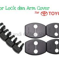 Door Lock dan Arm Cover untuk Mobil Toyota Avanza Veloz Rush Agya