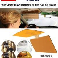 HD VISION VISOR PElindung Cahaya Kaca Mobil Siang dan Malam