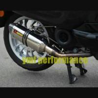 harga knalpot akrapovic titan vespa primavera sprint lx lv 150cc Tokopedia.com