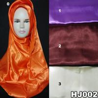 JIlbab Kerudung Pashmina Hijab Jilbab ootd Satin/Saten Murah