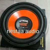"""speaker ads 12"""" nitrous nos subwoofer"""