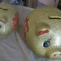 harga guci/celengan unik model babi emas ukuran kecil Tokopedia.com