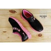 Nike Free Running Slip On Slop Sepatu Olahraga Wanita Ninja Warrior