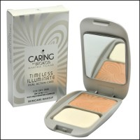 Caring Dual Action Cake Timeless Illuminate /Bedak Caring For Dry Skin