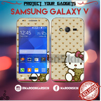 harga Garskin Samsung Galaxy V Hello Kitty 2 Tokopedia.com