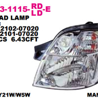 HEAD LAMP KIA PICANTO 2004-2007