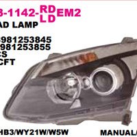 HEAD LAMP I. D-MAX 2012