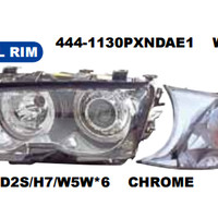 HEAD LAMP BMW 3 SERIES E46 2D 1998