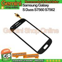Layar TouchScreen Samsung Galaxy S Duos S7560 S7562 Kaca Layar Sentuh