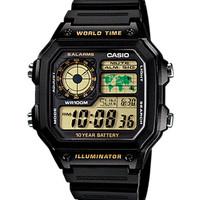 harga Jam Tangan Digital Casio Original Pria Ae-1200wh-1b Tokopedia.com