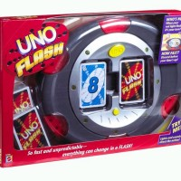 UNO Flash - UNO Flash & Card / Kartu - Mattel Games