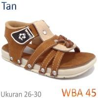 Sepatu Sandal Gunung Anak Sporty (Usia 2-5 Tahun) WBA45 Tan