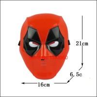 harga Mainan Anak Topeng Nyala Lampu Deadpool Dead Pool Marvel Cosplay Mask Tokopedia.com
