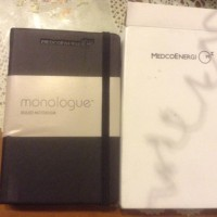 Monologue Ruled Notebook
