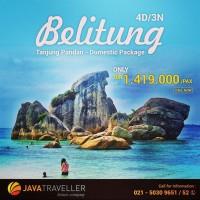 Paket Tour Murah /Paket Wisata Belitung-Tour Bangka Belitung 2D/1N