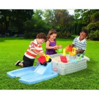 LITTLE TIKES BIG DIGGER SANDBOX WITH TOYS LITTLE PUMPKINSTOYS