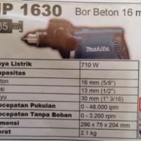 Mesin Bor Beton 16mm Makita HP 1630
