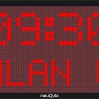 Jadwal Sholat Digital Running Text MQ-12-JAJ