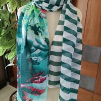 pashmina zarra h&m burberry gucci hijab pasmina shawl scarft jilbab