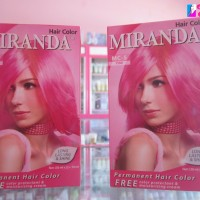 MIRANDA HAIR COLOR PINK MC-5
