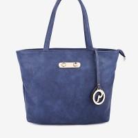 PALOMINO: PALOMINO-VIOLA HAND BAG-BLUE