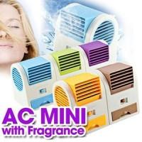 AC Mini USB Fan Kipas Angin Duduk Fragrance Tnpa Baling Portable MURAH