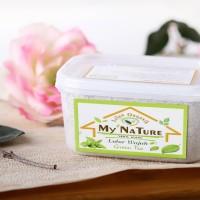 Jual Lulur Wajah My Nature Green Tea / Netto 220 Gr Murah