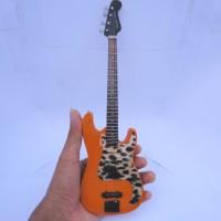 Miniatur Bass Fender Precisious Eka Rock SID Signature