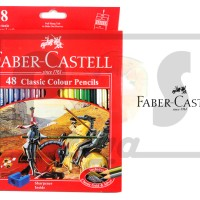 PENSIL WARNA FABER CASTELL CLASSIC 48