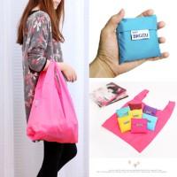 Jual Baggu: Tas Belanja Plastik Lipat Bagcu shoppe bag shopping bag Murah