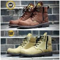 Sepatu Kerja Hiking Pria Caterpillar Amazon Safety Terlaris / Termurah