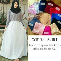 candy skirt / basic skirt / rok skinny murah