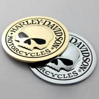 Harley Davidson Emblem / 3D Metal Sticker
