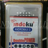 Baterai Indoku Smartfren Andromax I3 4000mah Batre/Double Power/Max