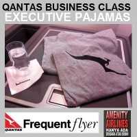 PIJAMA UNISEX BUSINESS CLASS QANTAS AIRWAYS