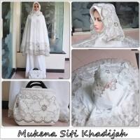 Jual Mukena Dewasa Cantik Chiffon Cerutti Sifon Siti Khadijah Murah